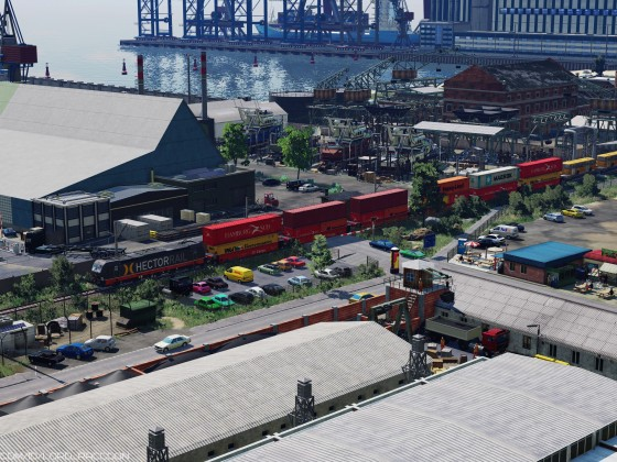 [TpF1] Busy day at Gdansk seaport