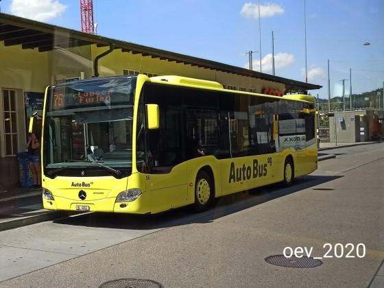 AAGL (Autobus AG Liestal) Mercedes Benz Citaro C2
