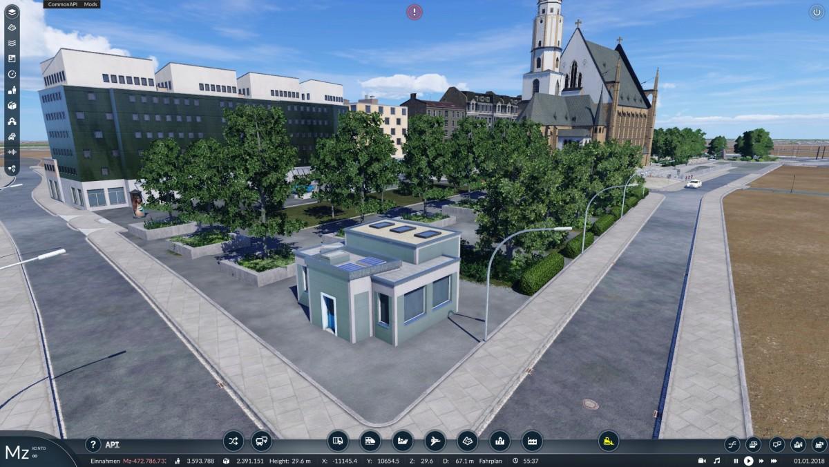 Vorplatz Thomaskirche Leipzig
