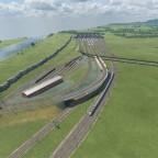 Baustart eines weiteren Gleisvorfeldes