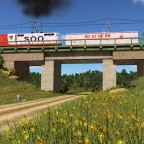 Soo Line GP7 in the morning