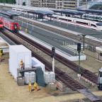 Bahnsteigerweiterung am Schwansteiner Hauptbahnhof