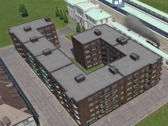 weitere neue Häuser