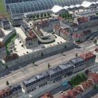 Baustand des 2. Altstadtgebietes in Freifeld