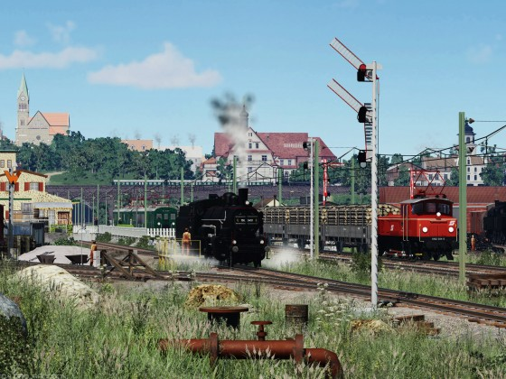 [TpF1] Busy traffic on the railway station