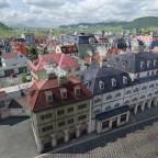 Es naht der Thut Platz und das Rathaus.
