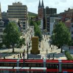 Denkmal & Fußgängerzone