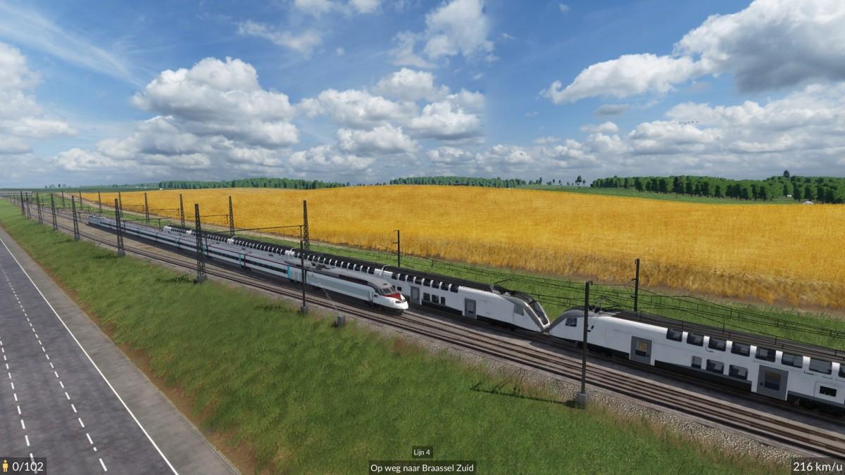 Testing new High Speed Line