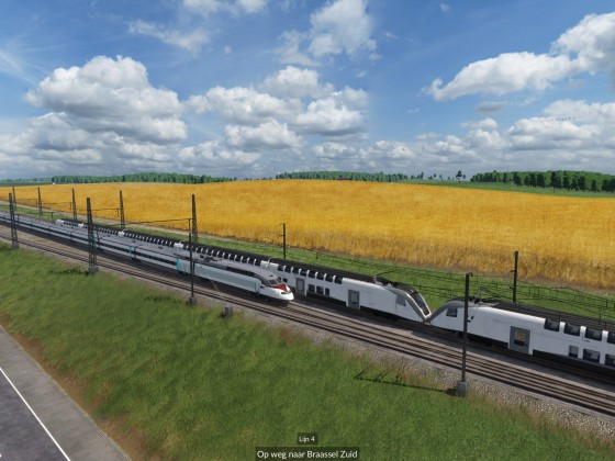 Testing new High Speed Line