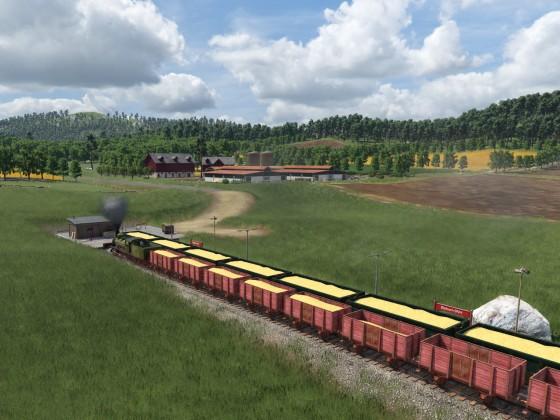 Getreide-Zug BR 53 preuss. G3