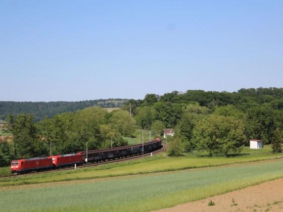 Ein kleiner Güterzug