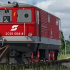 Betrieb bei der Ybbstalbahn - 2095.004-4 in Ybbsitz