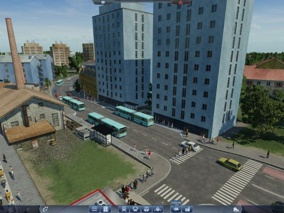 Einkaufen an Bahnhof