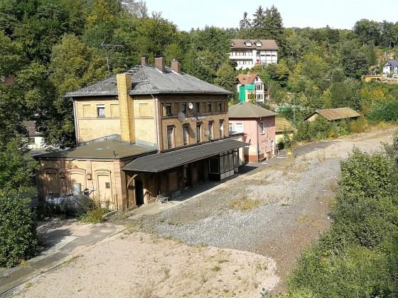 Stillgelegter Bahnhof Heigenbrücken