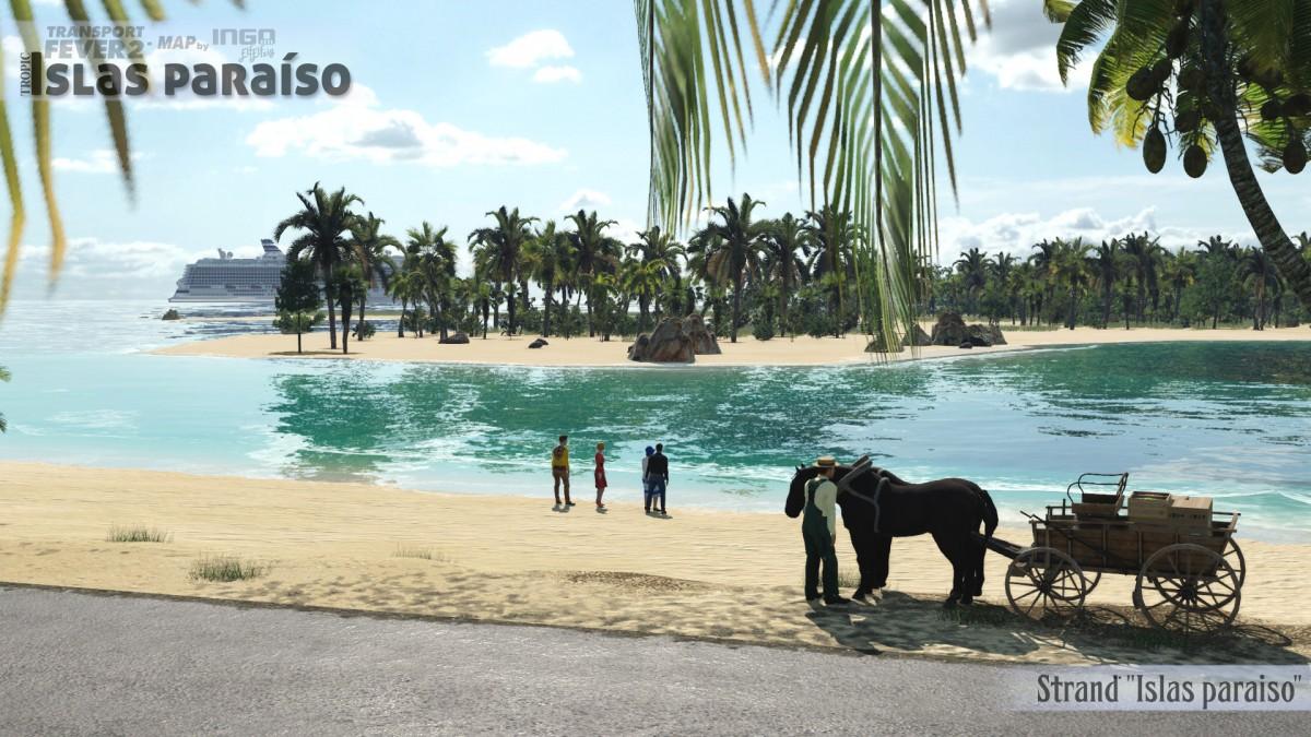 """Idyllischer Strand auf """"Islas paraíso"""""""