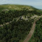 Einfahrt in den Bahnhof Filisur