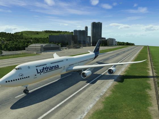 747-8 erfolgreich gelandet
