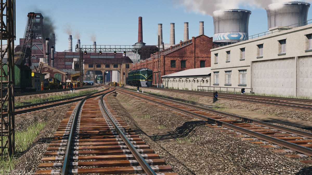 DF1 on the coal factory