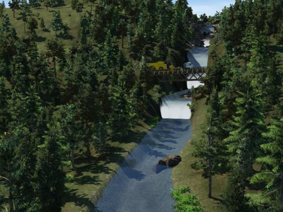 Prignitz - Wasserfall 1