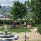 Spielplatz beim fiktiven Luzerner Hafen