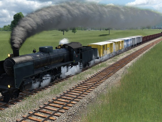 Mixed freight oldstyle 1