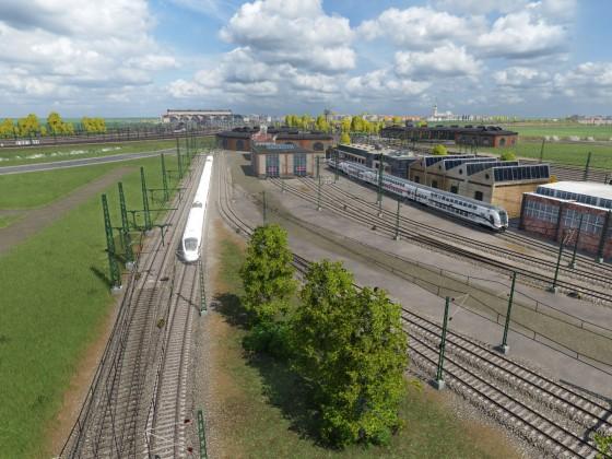 Leipzig Project Schönbau - ICE Werk
