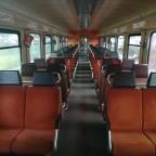 Ist das nicht noch ein Schöner alter Fahrgastraum?