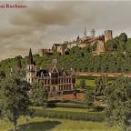 Kurhaus Karlsburg - Postkarten-Stil