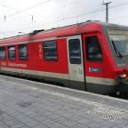 Einfahrt BR628 in Hbf Passau