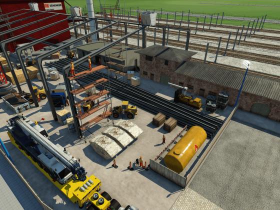 Neues Gefahrgutlager beim Güterbahnhof