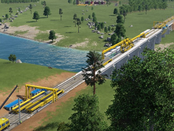 Brücken und Gleisfeldbau 2