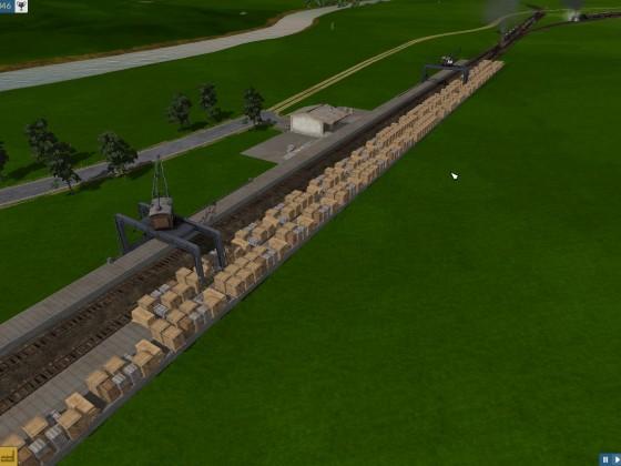 Kleiner Wahrenstau wegen nicht fahrender Züge