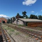 Tiny American steam depot #2