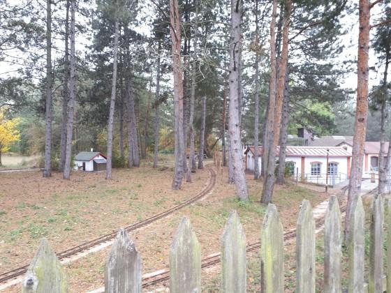 Gartenbahn im Heizhaus Strasshof
