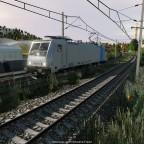 BR 186 Railpool als LZ