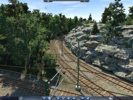 Wenn das Bauen der Schienen mal gerade ausnahmsweise keine Qual dar stellt, macht auch das Detaillieren großen Spaß :)
