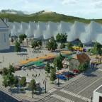 Baruth/Mark - Bahnhofsvorplatz (WIP)