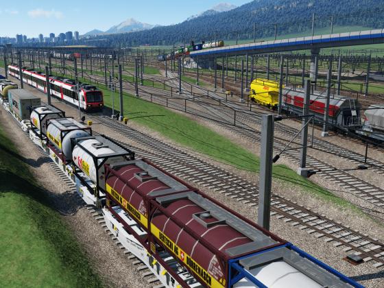 Personenzug muss Rangierfahrt abwarten