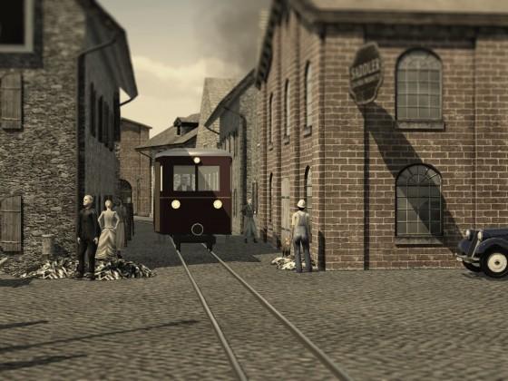 Lokalbahn und Kleinstadt 2
