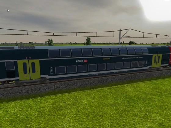 Die neuen Wagen der Regional Bahn Schleswig Holstein
