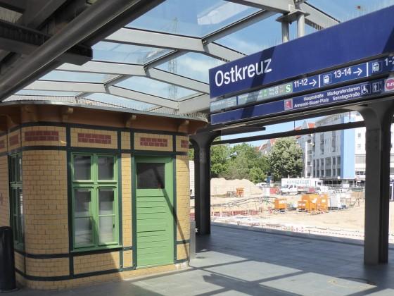 Berlin Ostkreuz S-Bahnsteig D 2