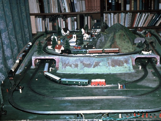 Modelleisenbahn 50er Jahre