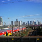 Frankfurt Hbf  Gleisvorfeld