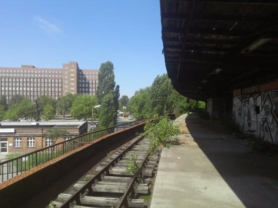 Bahnsteig S Siemensstadt