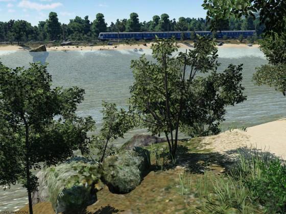 ED9M near the lake #3