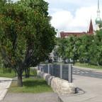 Rosnegarten Park Eingang Ost