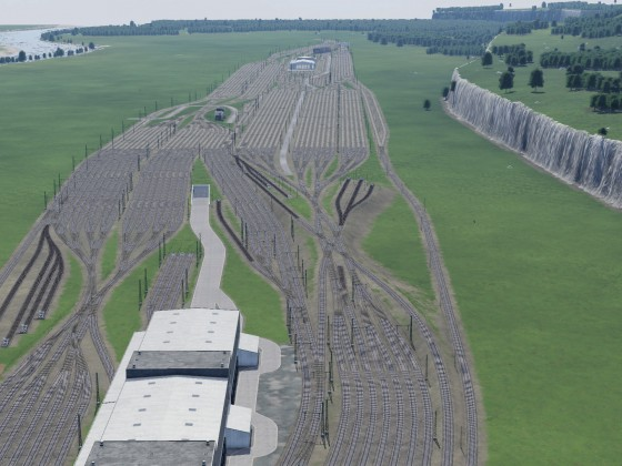 Blueprint Güterbahnhof