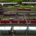 Bahnhofsvorfeld Worthing mit Betriebswerk von Süden (unbearbeitet)