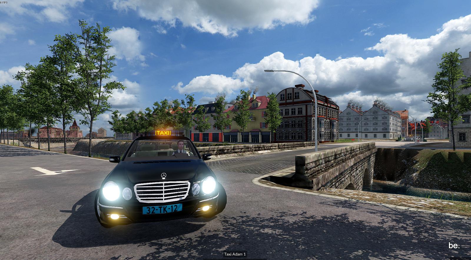 Taxi nach Amsterdam....