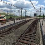 Bahnhof Heubach, Ausfahrt Richtung 3 Täler